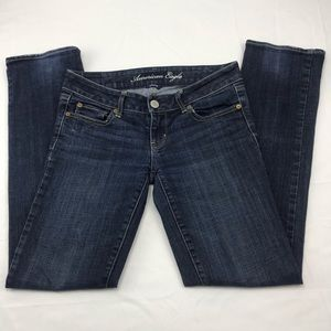 American Eagle stretch straight fit 5 pocket jeans